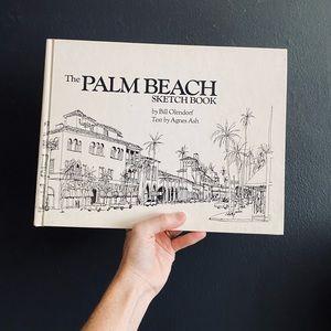 Vintage 1980 The Palm Beach Sketchbook